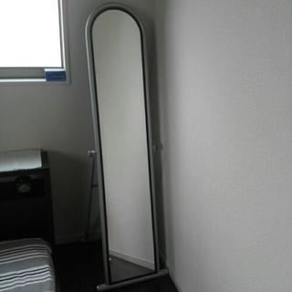 鏡、150cmx30cm