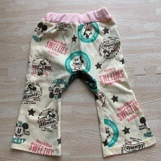 80サイズ ミッキーミニー ズボン