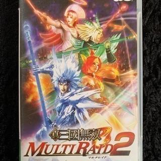 PSPゲームソフト 真・三國無双 multi raid2