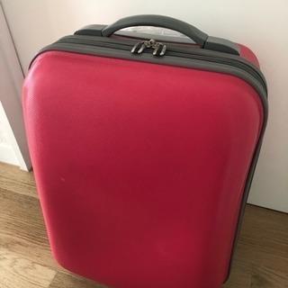 コムサイズム スーツケース ピンク