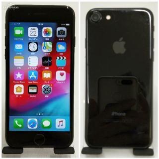 SIMフリー iPhone 7 128GB Jet Black 美品