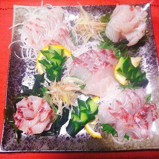 朝市の新鮮な魚を使った【和食会】