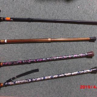 アルミ製杖4本あります。