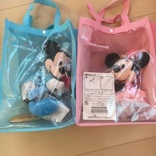 電報  人形 ミッキー&ミニー 2体で1000円。 1体500円。