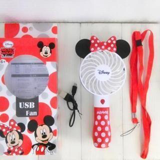 新品 Disney ミニー ハンディ扇風機