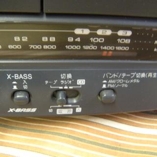 値下げしました 希少 レア SHARP QT-C150-B コンパクト ディスク ステレオ ダブル カセット − 愛知県