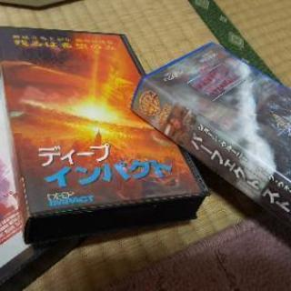 ビデオテープと、DVDソフト