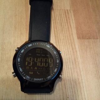 スマートウォッチ 800円 腕時計 活動量計 電池式