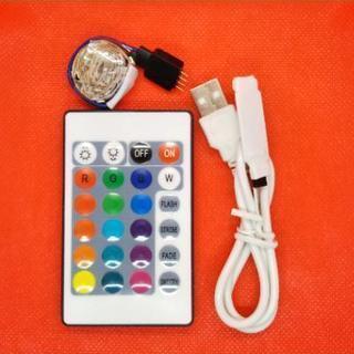 新品LEDテープライト50cmリモコン付き