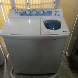 ❪値下げ2中古品❫ 二層式洗濯機⑤