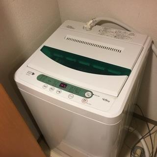 洗濯機、3年間使用しました