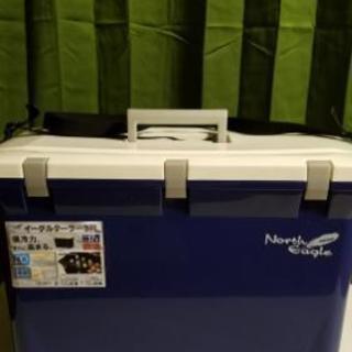 クーラーボックス37Lサイズと保冷剤8個
