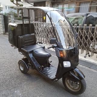 側車付き軽二輪 ジャイロキャノピー トライク 68cc 二人乗り...