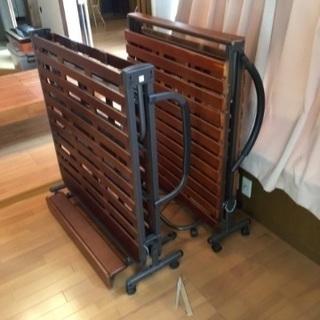 折り畳みすのこベッド 配送可能