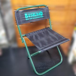 【札幌市内限定】BUSHLAND キャンプ椅子 アウトドアチェア ...