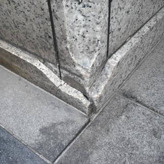 石材リペア(補修)施工いたします。