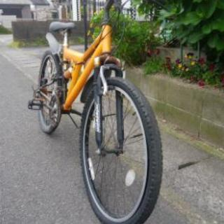【取引売約済】マウンテンバイク