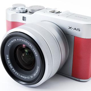 Fujifilm X-A5 ピンク レンズキット★極上美品★小型・...