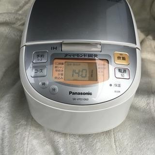 2017年製 パナソニック IHジャー炊飯器