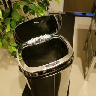自動ゴミ箱 シルバー