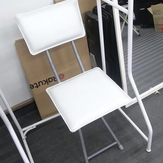 椅子 チェア 中古 白