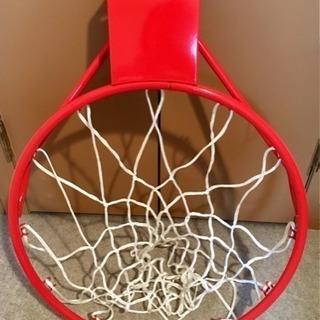 未使用バスケットボールのゴールリング