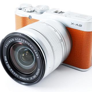 Fujifilm X-A2 ブラウン レンズキット★極上美品★小型...