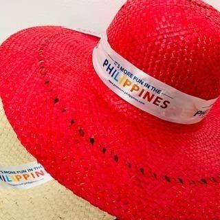 鐔の大きい南国帽子 ペア リゾートハット ☆南国気分を演出します