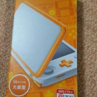 新品未開封「Newニンテンドー2DS LL ホワイト×オレンジ」