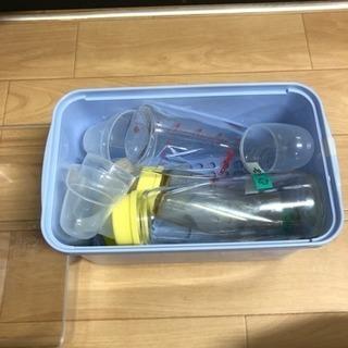 哺乳瓶(ロング3本)箱付き