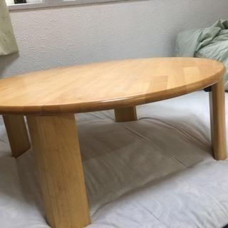 ローテーブル 折りたたみ式ちゃぶ台