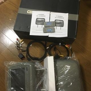 EONON 9インチ ヘッドレストモニター 【新品未使用】