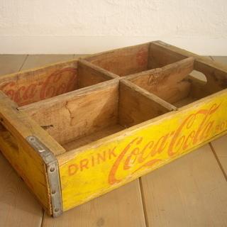 アンティーク USA製 コカ・コーラ 木製 木箱