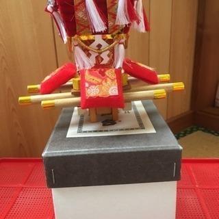 日和佐の太鼓台(ちょうさ)の置物 民芸品