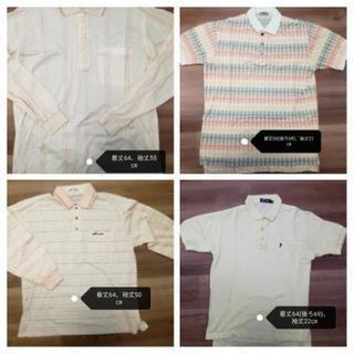 ポロシャツ4枚セット(ポロクラブ他)Mサイズ ゴルフウェア