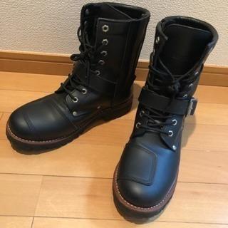 AVIREX ブーツ26.5cm AV2100 黒