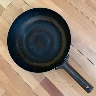 鉄製フライパン…中華鍋大