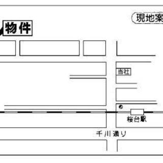 桜台4丁目 貸店舗・事務所 路面店♪