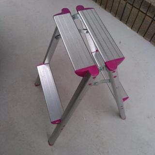 アルミ製 二段脚立 踏台 高さ54cm