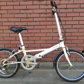 🔴DAHONダホン折り畳み自転車 サビあり