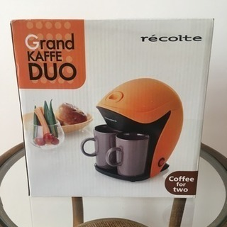 新品未使用コーヒーメーカー