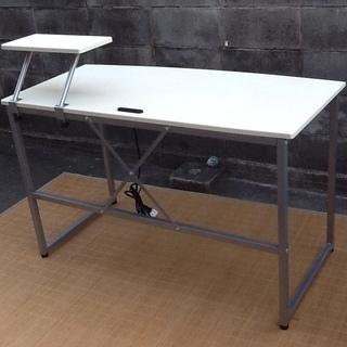 【3,000円で】シンプルイズベスト 素敵なホワイトのデスク、テーブルです 配達も可 − 京都府