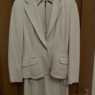 入園&入学式に!ジャージ生地のレディーススーツ 40サイズ