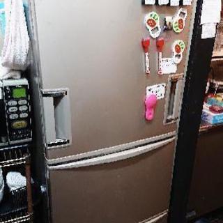 両開き3ドア冷蔵庫、冷蔵、冷凍不可