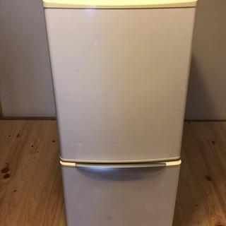 冷蔵庫 ホワイト 2ドア 日本製 National 2006年製...