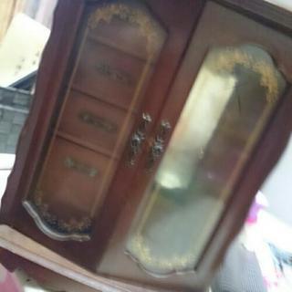 アンティーク調  宝石BOX収納棚骨董品