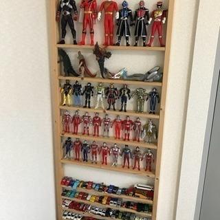 子供のおもちゃ収納棚 DIYハンドメイド ディスプレイ