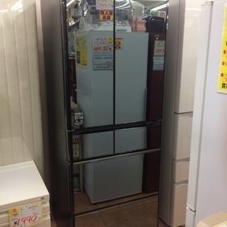 HITACHI  555L冷蔵庫  2017年製