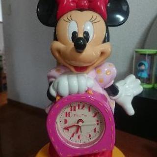 【値下げ】ミニーマウスの目覚まし時計