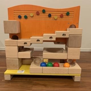 希少!!【ボーネルンド】クーゲルバーン ボール転がし キッズ 木製玩具